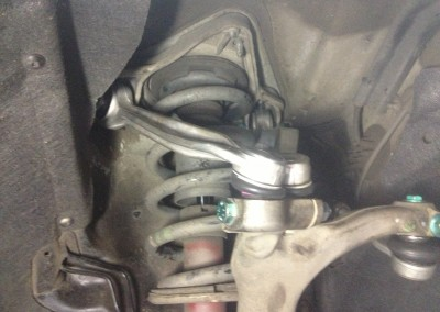 How To Replace An Upper Control Arm with Ball Joint